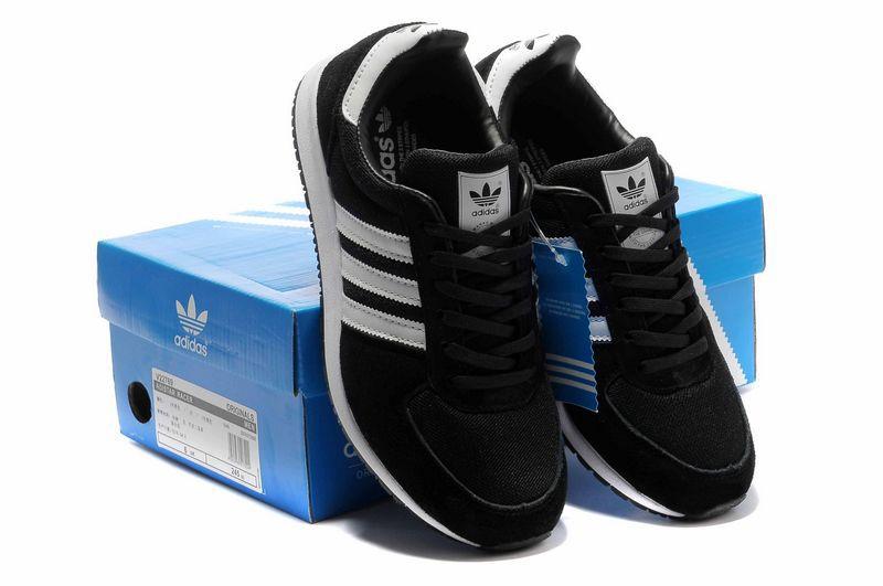 Adidas Noir Et Blanche Homme